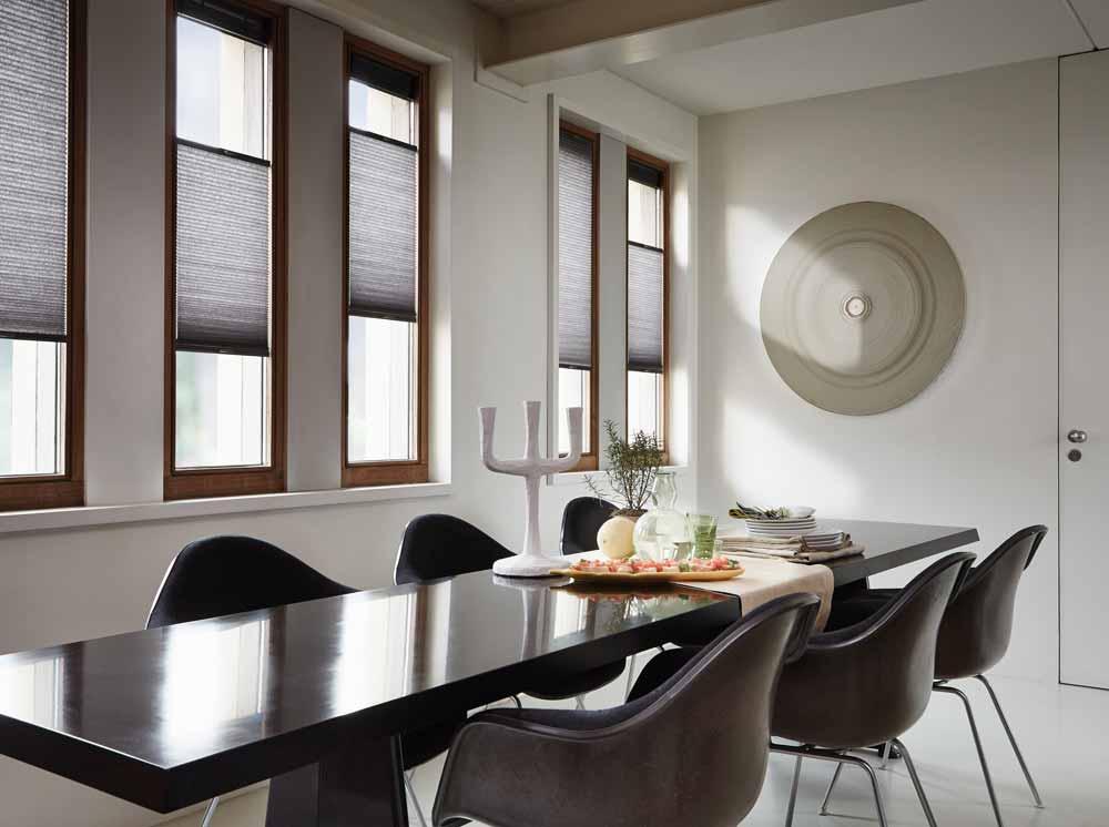 duette shades van luxaflex en flexclours heezen wonen dinxperlo. Black Bedroom Furniture Sets. Home Design Ideas