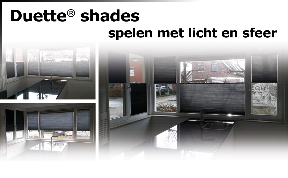 Luxaflex Duette Shade - 3x anders
